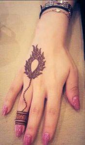 elegant one hand mehndi designs