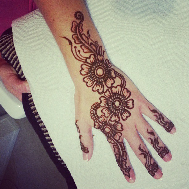 Quick Mehndi Patterns : Simple mehndi designs collection how to draw