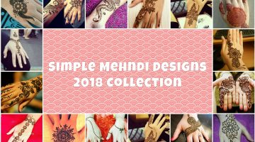 Simple Mehndi Designs Collection – Guide How To Draw Them at Home