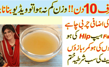 Apple Cider Drink for Weight Loss by Dr Bilquis Sheikh