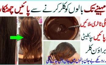 Get Natural Brown Hair Dye at Home