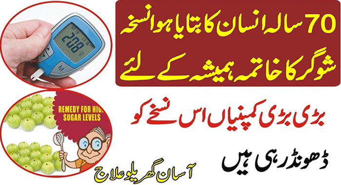 Diabetes Treatment with Home Remedy