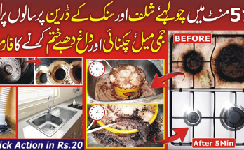 Keep Kitchen Counter Clean and Maintain Cooking Range